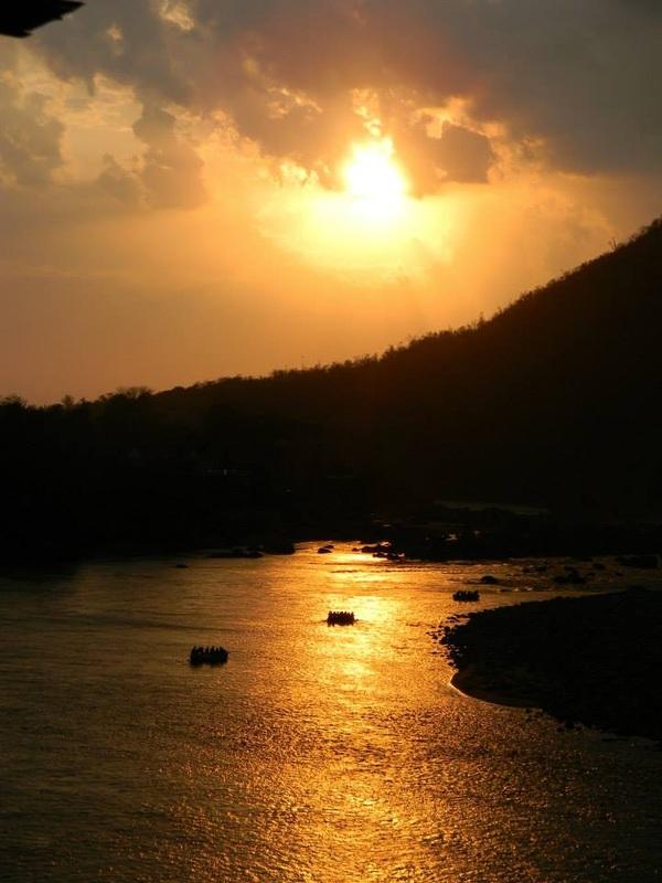 ganga-sunset